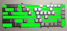 Dell Inspiron 1525 KEYBOARD'S INDIVIDUAL KEY (ONE KEY ONLY) BA86 137127-001 C