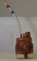 #0158 Clay Bird Decoration on Jar  - $10.00
