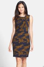 NORDSTROM Cynthia Steffe Knotted Jacquard Woman Dress sz 12 NWT - $197.66