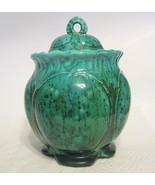 Studio Art Pottery Lidded Jar Handmade by Jane Vintage 1981 - $57.91