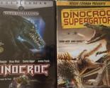 DINOCROC 1+2: Dinocroc VS. Supergator- Roger Corman Sci Fi- NEW 2 DVD