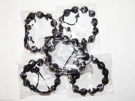 Wholesale 5 Unisex Big Bead black Color good Cz Bracelet 12mm Disco Ball - $49.45