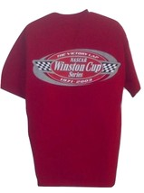 NASCAR The Victory Lap Winston Cup Series 1971-2003 Red Large T-Shirt NWOT  - $15.99