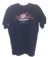 NASCAR Matt Kenseth #17 TeamCaliber Smirnoff Ice Triple Black Med T-Shir... - $15.99
