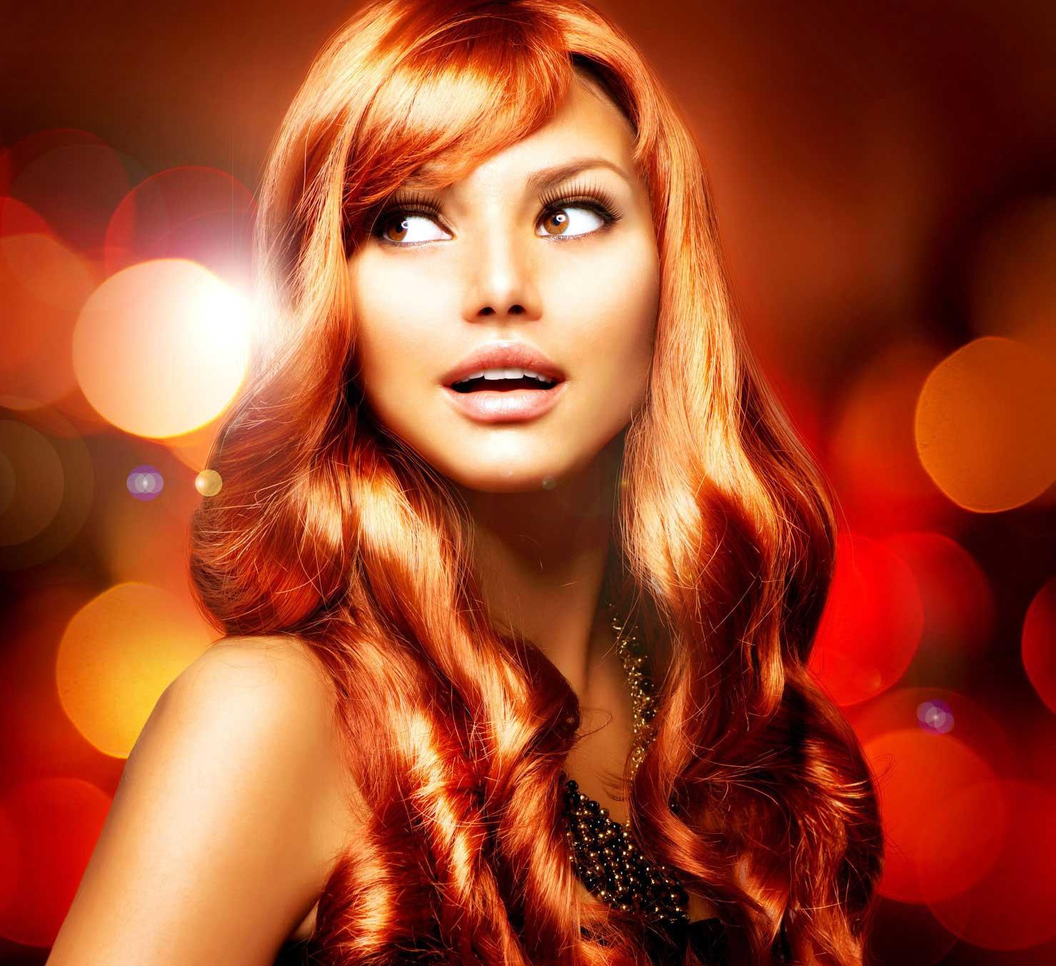 К чему снится покраска волос в рыжий