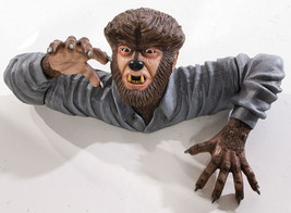 THE WOLF MAN GRAVE WALKER HALLOWEEN PROP Haunted House Garden Yard Creep... - $75.90
