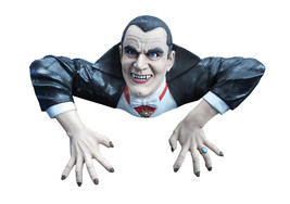 DRACULA GRAVE WALKER HALLOWEEN PROP Haunted House Garden Yard Scary Cree... - €67,04 EUR