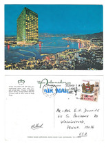 China Hong Kong Ambassador Hotel Harbour View Kowloon Postcard 4X6 Sc 246 - $8.69