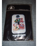 Fond Memories Snowfolks Cross Stitch Single Switch Plate Cover #1044 - $14.49