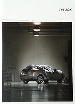 2010 Acura ZDX HUGE sales brochure catalog US 10 Honda - $12.00