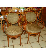 Pair of Maple Bentwood Armchairs / Chairs - $499.00