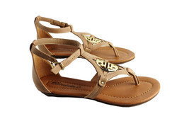 Breckelle's Ankle Strappy Open Toe Casual  Summer Cute Thong Flat Sandal... - $28.86 CAD