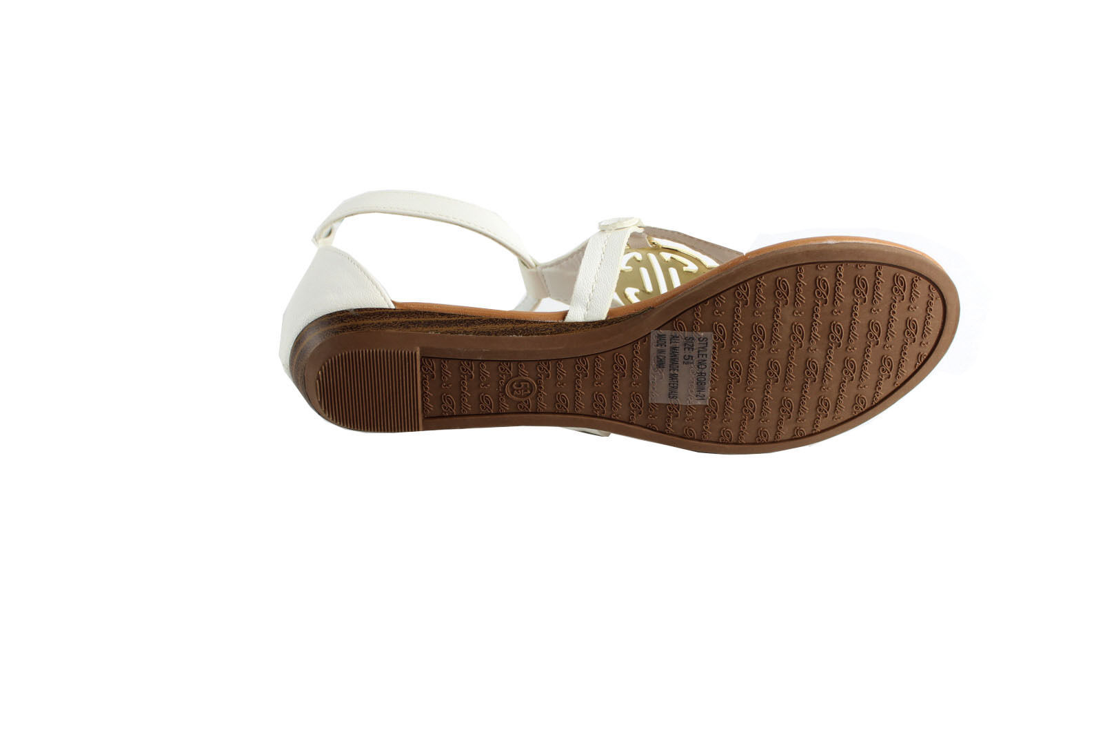 Breckelle's Ankle Strappy Open Toe Casual  Summer Cute Thong Flat Sandal Shoes