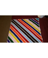 Corner to Corner Multi Color Square Blanket - $50.00