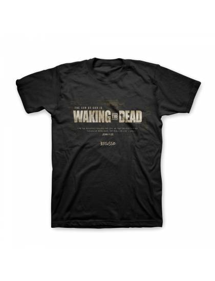 """Christian Mens T-Shirt """"WAKING THE DEAD""""  by Kerusso - NEW"""
