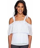 PUMA Women's Xtreme Off the Shoulder Tee Halogen Blue T-Shirt - $19.22