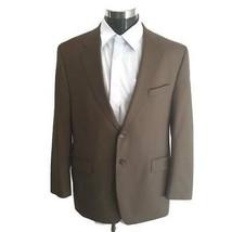 LRL Ralph Lauren Blazer Mens 44R Suit Jacket Beige Sportcoat Lined Wool  - $49.49