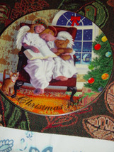 Avon Heavenly Dreams Christmas 1997 Plate Sign By Michael Garland Plate - $24.95