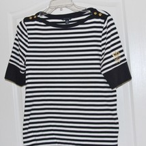 Tommy Hilfiger Ladies Blouse Top Size Medium - $13.85
