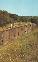 Fort Barrancas, at Pensacola Naval Air Station, 1950s unused chrome Postcard  - $4.99