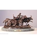 """Stampede"" Pure Bronze Statue by Frederic Remington - Medium - $2,500.00"