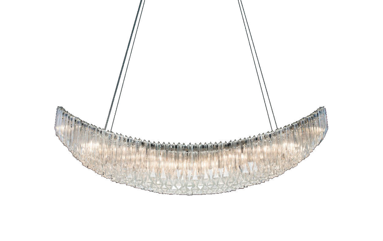 "Primary image for AM9090: ""TOH"" by Raphael Navot Murano Crystal Chandelier (26""-60"" W) $2,445.00+"