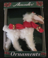 Annalee Christmas Christmas Delights  4 Inch Lamb New In Package  - $12.79
