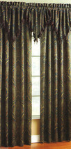 "CROSCILL  BURTON 1PC ASCOT VALANCE  PAISLEY  40 x 21  2"" HEADER  NIP BEA... - $37.98"