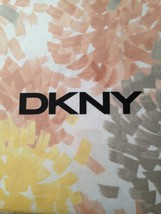 "DKNY   ""BRUSHSTROKE FLORAL""  1PC SHOWER CURTAIN   YELLOW  72x72 ~bnip~ - $35.26"