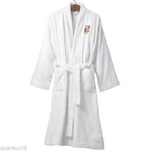 "ORLA KIELY  ""STEM"" 1pc JACQUARD  BATH ROBE WHITE L/XL NEW IN GIFT BOX LA... - $104.47"