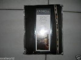 CROSCILL CHEETAH  1PC VALANCE  CHOCOLATE 88x16 NIP - $35.33