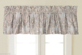 "ROSE TREE""WORTHINGTON COLLECTION"" OATMEAL 1PC TAILORED VALANCE BNIP - $35.71"