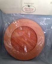 Longaberger 2002 Woven Memories Basket Lid ~ Classic  New - $14.65