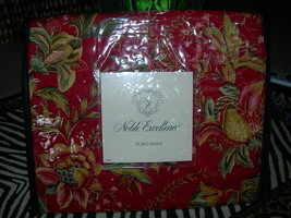 "Noble Excellence ""Caroline's Wedding Ring"" 3pc Euro Sham Nib - $84.64"