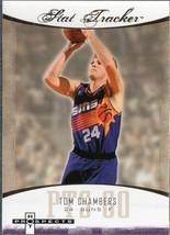 TOM CHAMBERS 2007-08 FLEER HOT PROSPECTS STAT TRACKER # ST-33 - $1.24