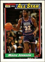 "EARVIN ""MAGIC"" JOHNSON 1992-93 TOPPS # 126 - $1.25"