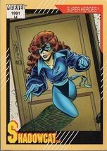 SHADOWCAT 1991 MARVEL COMICS IMPEL CARD # 9 - $1.24
