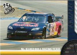 Red Bull Toyota # 83 2010 Press Pass # 67 - $1.25