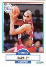 Charles Barkley 1990 91 Fleer # 139 - $1.24