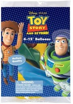 """Disney Toy Story and Beyond 12"""" Assorted Color Balloons - $11.83"""