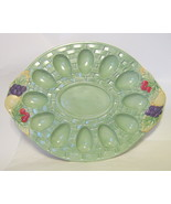 Large Pfaltzgraff Egg Serving Plate Jamberry by Pat Farrell - $66.82