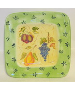 Small Decorator Plate Fruit Motif from Zrike Hand Painted - $40.09