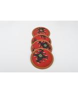 kilim coasters,wool coasters,rug coasters,coffee table accents,coasters,vintage  - $14.90