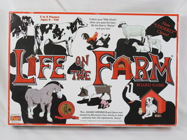 LIFE ON THE FARM 1996 BOARD GAME AWARD WINNING NEAR MINT CONDITION - $23.02