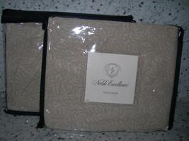 "Noble Excellence ""Copeland"" 2PC Euro Sham Tan Nib - $47.02"