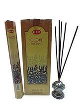 Hem Clove Incense Sticks Indian Natural Fragrance Agarbatti 12 Packs - $19.79