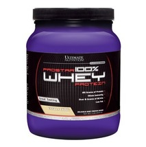 Ultimate Nutrition Prostar 100% Whey Protein, 1 lb Vanilla Creme - $49.95