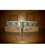 2 Antique Coca Cola Bottle Cartons - $30.00