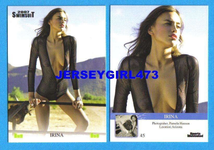 Irina Shayk 2007 Sports Illustrated SI Swimsuit Card #45