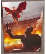 Batman vs Superman Glossy Print 11 x 17 In Hard Plastic Sleeve - $24.99